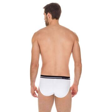 Slip Australien blanc en coton stretch-DIM