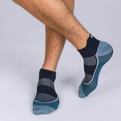 Socquettes courtes impact fort Gris bleu Homme Dim Sport -DIM