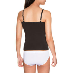 Caraco noir coton stretch DIM Girl-DIM