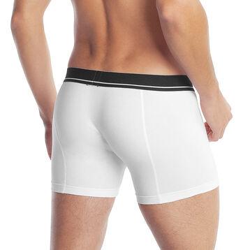 Boxer blanc Super DIM Homme en coton et modal-DIM