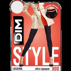 Legging noir opaque velouté 80D Madame so Daily-DIM