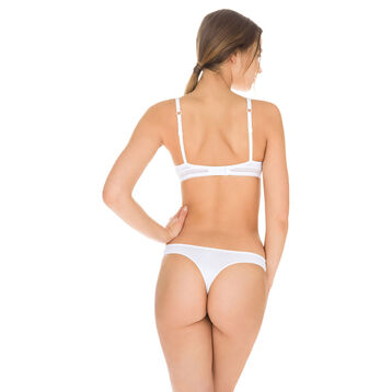String blanc Invisi Fit seconde peau-DIM