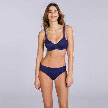 Soutien-gorge à armatures bleu indigo Body Touch-DIM