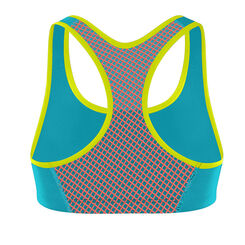 Brassière de sport Active Crop Top bleue Shock Absorber-SHOCK ABSORBER