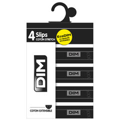 Lot de 2 slips noirs EcoDIM en coton stretch-DIM