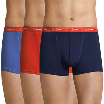 Lot de 3 boxers  Coton Stretch -DIM