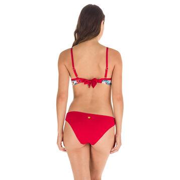 Haut de maillot de bain imprimé tropical à armatures Femme-DIM