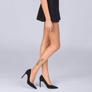 Collant été Teint de Soleil tatouage papillon 17D Femme -DIM