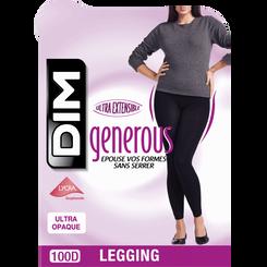 Legging Generous ultra opaque noir -DIM