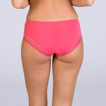 Shorty rouge corail Invisi Fit-DIM