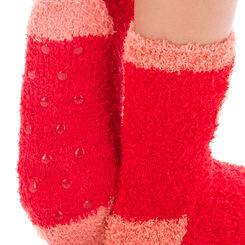 Chaussettes rouges motif cœur pour Enfant-DIM