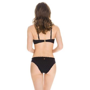 Haut de maillot de bain noir ajouré à armatures Femme-DIM