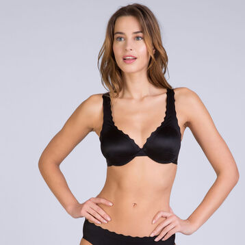 Soutien-gorge foulard noir Femme Beauty Lift -DIM