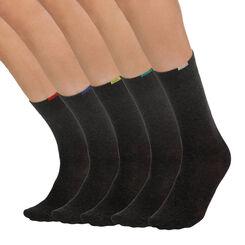 Lot de 5 paires chaussettes grises EcoDIM Homme-DIM
