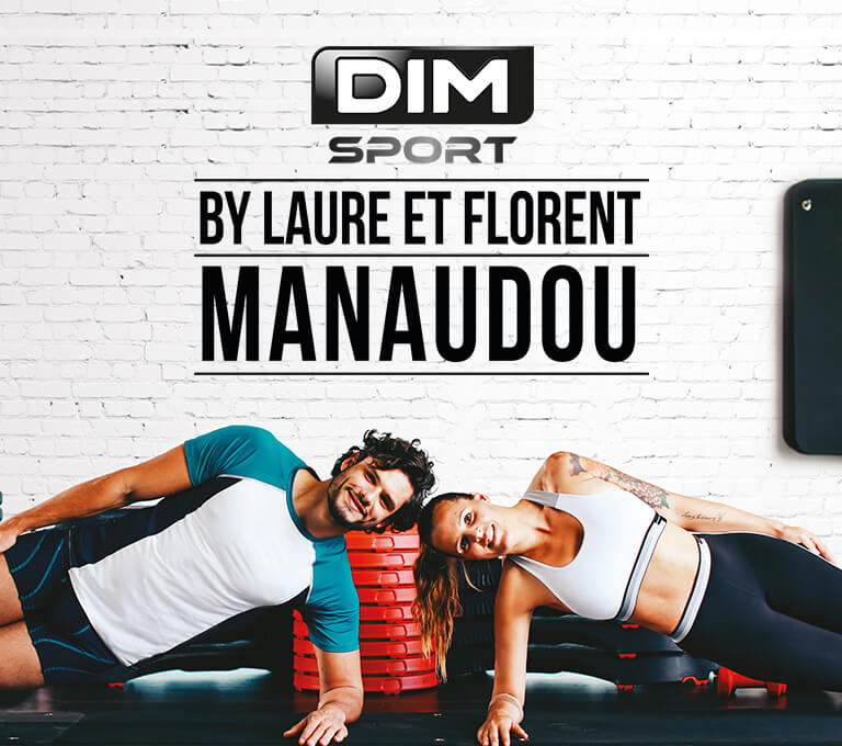 DIM Sport by Laure et Florent Manaudou