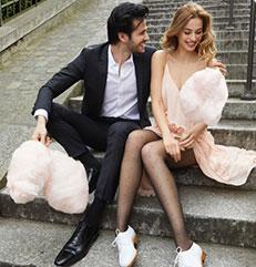 Bas et collants pour femme : l'élegance et le confort sur dim.fr