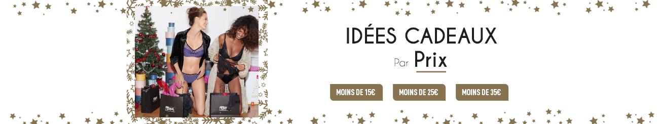 Idées cadeaux par prix