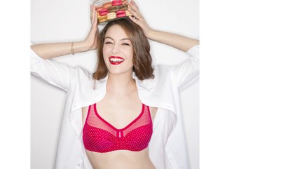 Découvrez les soutiens-gorge grandes tailles DIM pour femmes pulpeuses