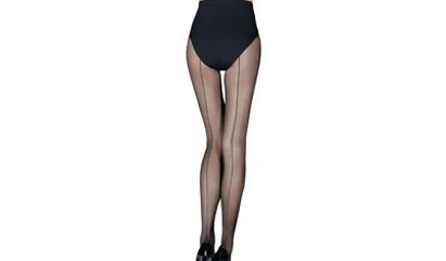 Sublimez vos jambes avec les collants couture pour femme sur dim.fr