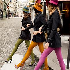 Collants pour femme : opaques, fantaisie, couleur, dentelle sur dim.fr