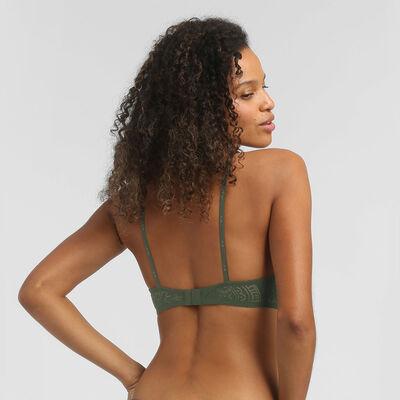 Soutien-gorge foulard avec armatures dentelle vert kaki Dim Intimately, , DIM