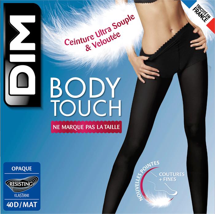Collant noir Body Touch Opaque 40D-DIM