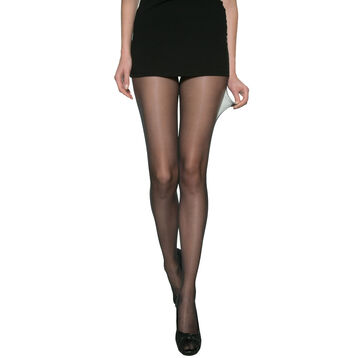 Lot de 2 collants transparents noirs Beauty Resist 15D-DIM