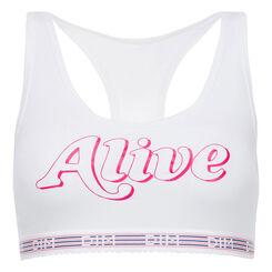 Brassière alive blanche Les Pockets Edition Limitée, , DIM
