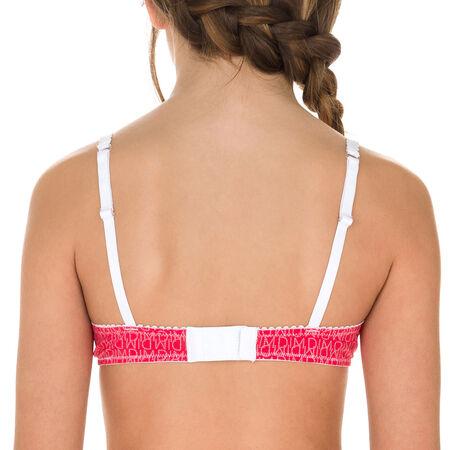 Soutien-gorge à armatures rose indien DIM Girl. Ref 6J63250-EC. 13 1cbf4af98f2