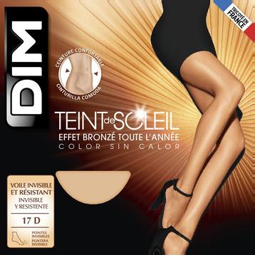 Collant terracotta Teint de Soleil Effet bronzé naturel 17D-DIM