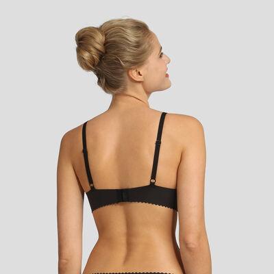Soutien-gorge foulard avec renforts souples noir New Body Touch Libre de Dim, , DIM