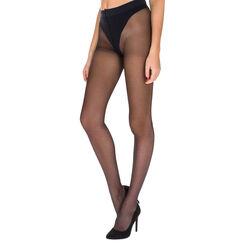 Collant noir transparent Diam's Sexy Shaping push-up 22D, , DIM