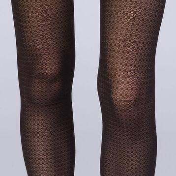 Collant points noirs 20D Femme Les Fantaisies, , DIM