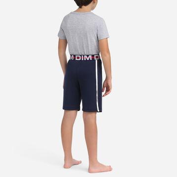 Pyjama 2 pièces pour garçon t-shirt et short long 100% coton, , DIM