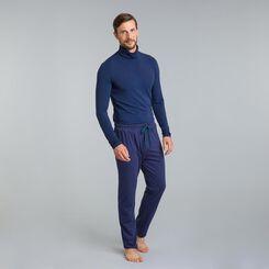 Pantalon de pyjama bleu marine Mix & Match-DIM
