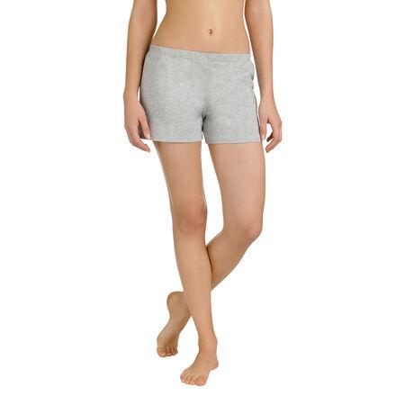 magasin en ligne 2c126 17488 Short de pyjama gris chiné 100% coton Femme