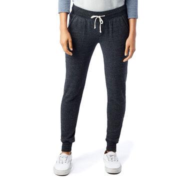 Pantalon de jogging noir Eco-Fleece Femme-DIM