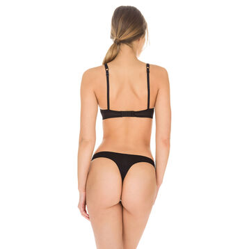 String noir Invisi Fit seconde peau, , DIM