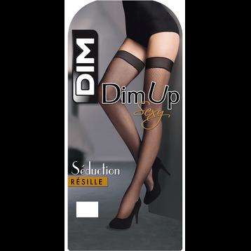 DIM Up noir Sexy Résille 73D, , DIM