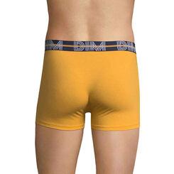 Boxer jaune moutarde DIM Powerful-DIM