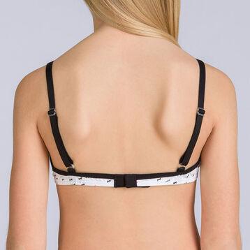 Soutien-gorge triangle mousse amovible Pocket nœud DIM GIRL-DIM