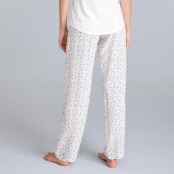 Pantalon de nuit rose nacre Soft & Cool-DIM
