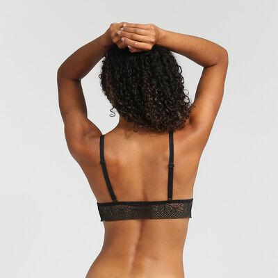 Soutien-gorge triangle sans armatures Noir Coco tropical de Dim, , DIM