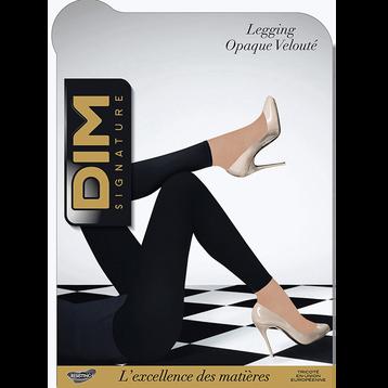 Legging noir DIM SIGNATURE Opaque Velouté 60D, , DIM