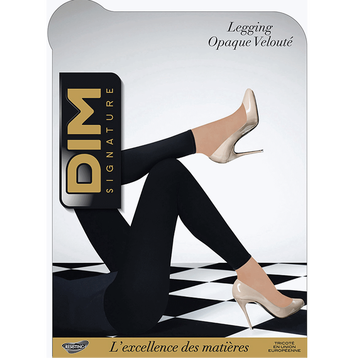 Legging noir DIM SIGNATURE Opaque Velouté 60D-DIM