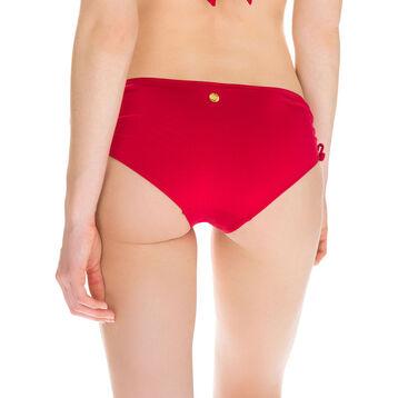 Bas de maillot de bain rouge shorty à nouer Femme-DIM