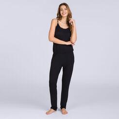 Combinaison Pantalon noire Pure Essential Femme-DIM