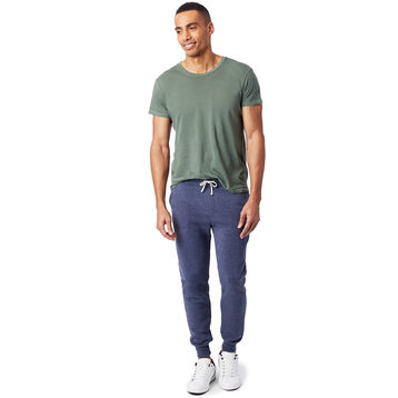 Pantalon de jogging bleu Eco-Fleece Homme-DIM