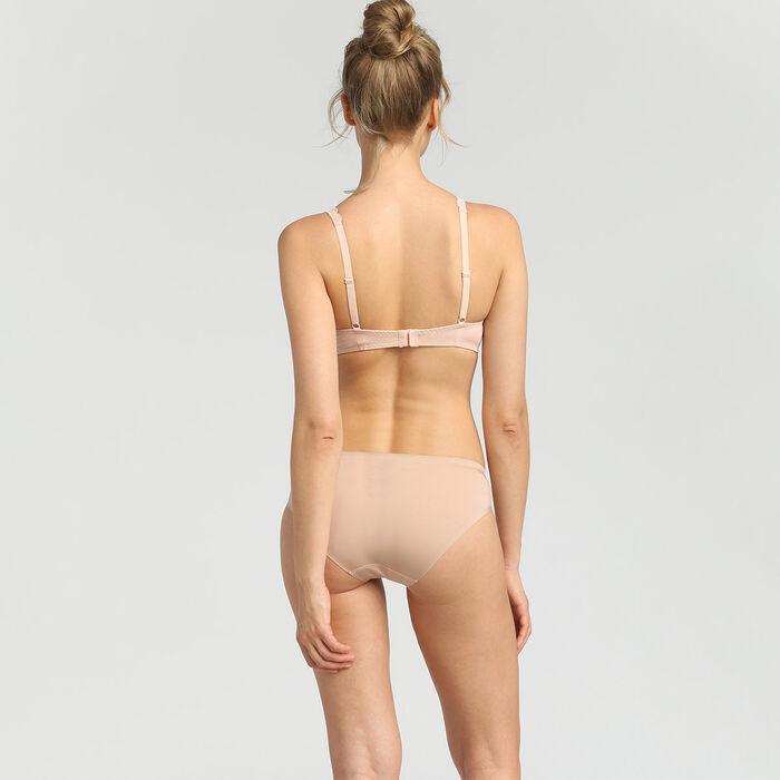 Soutien-gorge triangle sans armatures skin rose Sublim Dentelle de Dim, , DIM