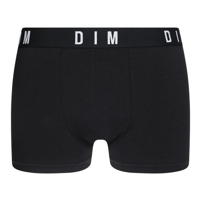 Boxer Noir en coton modal homme DIM Originals, , DIM